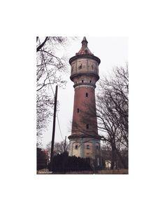 Water tower in Drezdenko, Poland