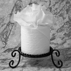 """PLUME ♦ Instructions in """"Toilet Paper Origami on a Roll: Decorative Folds and Flourishes for Over-the-Top Hospitality"""" by Linda Wright ♦ http://www.amazon.com/dp/0980092337/"""