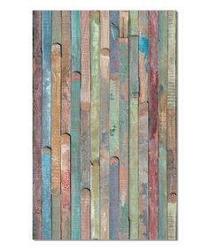 Another great find on #zulily! Rio Colored Wood Decal #zulilyfinds