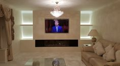 Tv Above Fireplace, Flat Screen, Room, Flat Screen Display, Tv Over Fireplace, Tv Above Mantle, Rooms, Bedroom