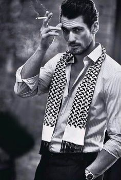 New - David Gandy for Grazia Italy by Esther Haase