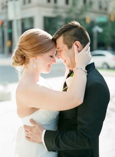 Photography: Amanda Watson Photography - www.amandawatsonphoto.com  Read More: http://www.stylemepretty.com/2015/05/28/traditional-oklahoma-city-navy-and-gold-wedding/