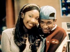 """𝚃𝚑𝚛𝚘𝚠𝚋𝚊𝚌𝚔 80𝚜 90𝚜 00𝚜 𝚎𝚛𝚊 on Instagram: """"Brandy & Usher '98 😍🖤🌹 • • • #brandy #usher #moesha #90stvshow #90s #90sera #90shiphop #90srnb #90srap #90ssctors #90ssingers #throwback…"""" 90s Tv Shows, Teen Shows, Aaliyah, Brandy Norwood, Usher Raymond, Freestyle Music, Hip Hop And R&b, Stars Then And Now, 90s Cartoons"""
