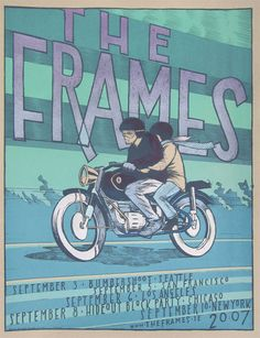GigPosters.com - Frames, The by Jay Ryan