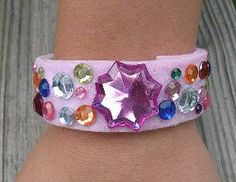 Birthday Princess Bracelet | AllFreeHolidayCrafts.com