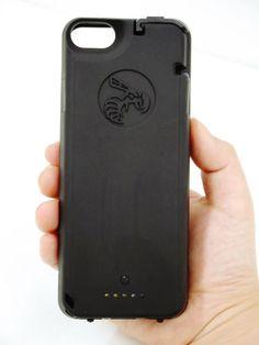 iPhoneケースにスタンガンを付けていざという時に攻撃者をすぐ撃退可能な「Yellow Jacket iPhone 5/5S case」でバチバチ電流を流してみた - GIGAZINE