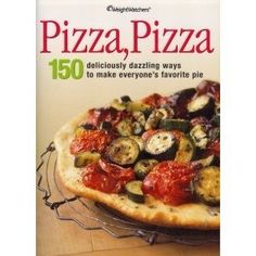 Weight Watchers COOKBOOK PIZZA PIZZA 150 Recipes Diet Lose Weight Brand NEW