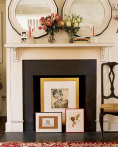 Unused fireplace ideas - Little Piece Of Me
