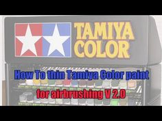 How To thin Tamiya Color paint for airbrushing V Modeling Techniques, Modeling Tips, Plastic Model Kits, Plastic Models, Paint Charts, Tamiya Models, Model Hobbies, Military Modelling, Air Brush Painting