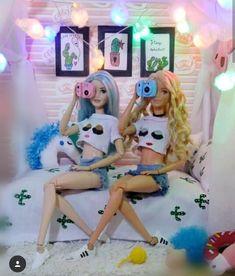 Awnn Q fofinhuh Diy Barbie Clothes, Barbie Toys, Barbie Life, Barbie World, Barbie Style, Barbie Tumblr, Accessoires Barbie, Barbies Pics, Barbie Fashionista Dolls