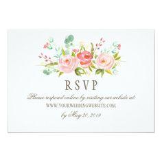 Response card wording examples for online rsvps wedding website classic rose garden wedding rsvp online website card filmwisefo Gallery