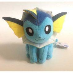 Pokemon 2013 Banpresto UFO Game Catcher Prize Vaporeon Plush Toy