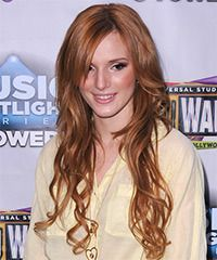 Bella Thorne Hairstyle: Casual Long Wavy Hairstyle Styling Steps