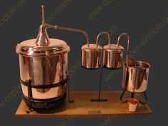 Copper Alembic - buy your own personal stills to make your own alcohol