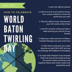 World Baton Twirling Day