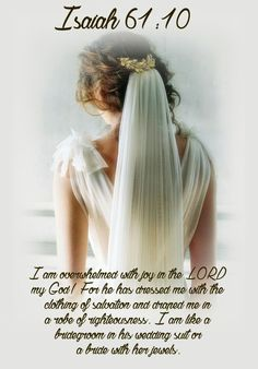 🌿💗 My approval of you is infinite because it will continue forever. It is based entirely on My righteousness, which is yours for all eternity. - Sarah Young / Jesus Lives (¯'💗'¯)🌿👑 ¸¸' Biblical Verses, Scripture Verses, Bible Scriptures, Bible Quotes, Bible Art, Daughters Of The King, Daughter Of God, Isaiah 61 10, Images Bible