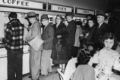 Long before fast food chains invaded the city, New York's favorite place to grab a quick lunch or coffee was the Automat.  Automatic for the People: Remembering the Automat Restaurants | Mental Floss