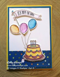 Birthday Delivery Stamp Set