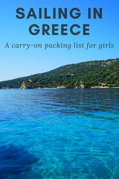 What to pack for sailing in Greece: