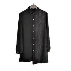 8584ad476eb4 VERSMA BTS Kpop Korean Harajuku GD Black White Striped T-shirt Men ...