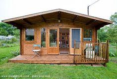 Dunster House Severn, Workshop/Studio from Garden #shedoftheyear @NicSkerten