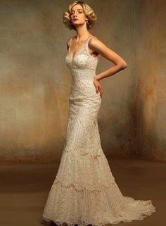 Used Pronovias Wedding Dress Oceano, Size 6 Looks Vintage, Style Vintage, Vintage Inspired, Vintage Glamour, Vintage Lace Weddings, Vintage Dresses, Vintage Bridal, Pretty Dresses, Beautiful Dresses