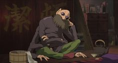 Bunta Sugawara, 16 August 1933 - 28 November 2014 RIP  Renowned Japanese actor dies aged 81. Sugawara who rose to fame in the 1970s playing wild-at-heart gangsters on the mean streets of post-war Japan also voiced my favourite character Kamaji in Spirited Away and later voiced Sparrowhawk in Goro Miyazaki's Tales From Earthsea.