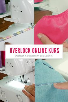 """Overlock sewing course """"love your ovi"""" - Learn to love your Ovi! 😍 Step by step from beginner to overlock professional! Learn wonderful s - Sewing Hacks, Sewing Tutorials, Sewing Projects, Sewing Patterns, Crochet Stitches Free, Crochet Blanket Patterns, Sewing Courses, Fabric Origami, Blouse Pattern Free"""