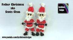 Rainbow Loom - Christmas - Father Christmas / Santa / Saint Nicolas