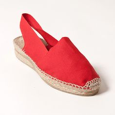 espadrilles for women | Source url: http://www.labellaspain.com/products/red-espadrilles-with ...