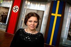 Främlingsfientliga krafter hyllar bränderna på flyktingförläggningarna, som på Kånna skola. Det är nästan som i början av 1990-talet då flyktingar från Balkan kom till Sverige, menar historikern Helene Lööw.