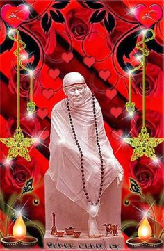 Abandon lust, wrath and avarice as they lead to self destruction Sai Baba Hd Wallpaper, Hero Wallpaper, Sai Baba Pictures, God Pictures, Shirdi Sai Baba Wallpapers, Indian Spirituality, Flower Girl Photos, Sai Baba Quotes, Ganesha Pictures