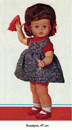 GEGE Roselyne 1964 Ideal Toys, Vintage Dolls, Snow White, Summer Dresses, Disney Princess, Disney Characters, Fashion, Bathing Beauties, Beautiful Dolls