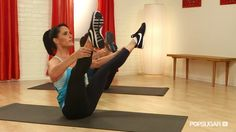 Cinch your waist with this 10 minute Pilates routine - no props or equipment required