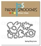 Spring Fling Icons Dies by Elizabeth Craft Designs, Paper Smooches, Card Companies, Guest Gifts, Die Cut Cards, Joanns Fabric And Crafts, Clear Stamps, Design Crafts, Craft Stores