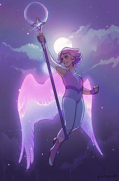 art occasionally — kind of wish she kept the wings 😳 Dreamworks, Princesa Disney Jasmine, Brooklyn Nine, Lizzie Hearts, Character Art, Character Design, She Ra Princess Of Power, Animation, Fan Art