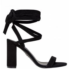 ILYSSA BLACK SUEDE ($125) ❤ liked on Polyvore featuring shoes, pumps, heels, heel pump, lace up heeled shoes, black heel pumps, kohl shoes and suede lace up shoes