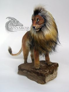 Red Lion Room Guardian by Anyaboz on Etsy