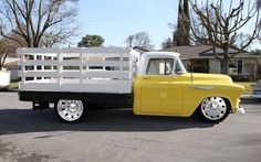 "doyoulikevintage: "" 1955 Chevy One Ton """