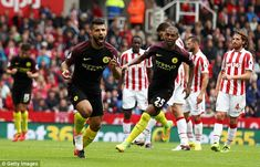Aguero has scored six goals in four matches for City so far this season