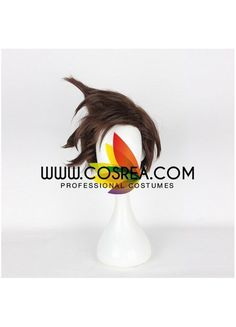 Overwatch Tracer Cosplay Wig
