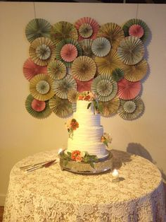 [Love This Cake Table Backdrop] www.thestockroomat230.com #thestockroom #thestockroomat230  #downtownraleigh #weddingvenue  #reception #raleighweddingvenue