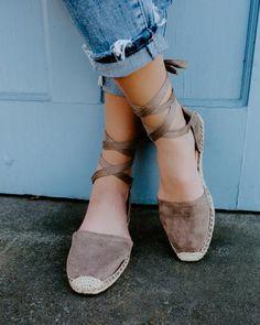 La Jolla Espadrille Wrap Sandal - Clay