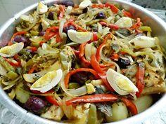 Como Fazer Bacalhau rápido e fácil - Minha receita de Bacalhau com Azeite e Batatas. Delícioso - YouTube