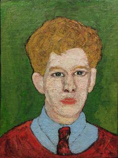 Beauford Delaney Boy with Blond Hair, 20 x 15 in.