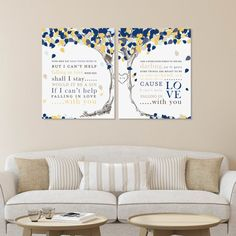 Wedding Song Lyric Tree Elvis Presley Only Fools Rush In Or Anniversary Gift Choose Art Print Canvas W L12 2ps Hh4