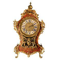 1stdibs.com   18th Century Louis XV Boulle Bracket Clock - French ca. 1760