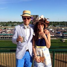 Thank you KJP and @Sarah Chintomby Chintomby Chintomby Vickers for an epic weekend at the Kentucky Derby! #VVDerby14 #EDSFTG