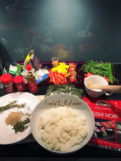 I'm ready for Homemade Sushi  #iloveit #Sushi #nutritious #healthyfood #LifeStyle #Homemade #Dinner4Winner #japanisch #selbstgemachte Sushi #hausgemacht #Maki #Tomaten #Pfeffer #Rotepaprika #follow4follow #kitchen #meal #Dinner4Winner L'S_K x