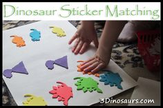 Dinosaur Sticker Matching